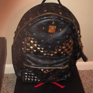 AUTHENTIC!!!    Rarely Used MCM Backpack!!